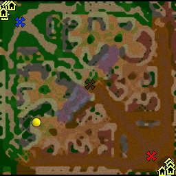 карта конфетные войны с ботами для warcraft 3